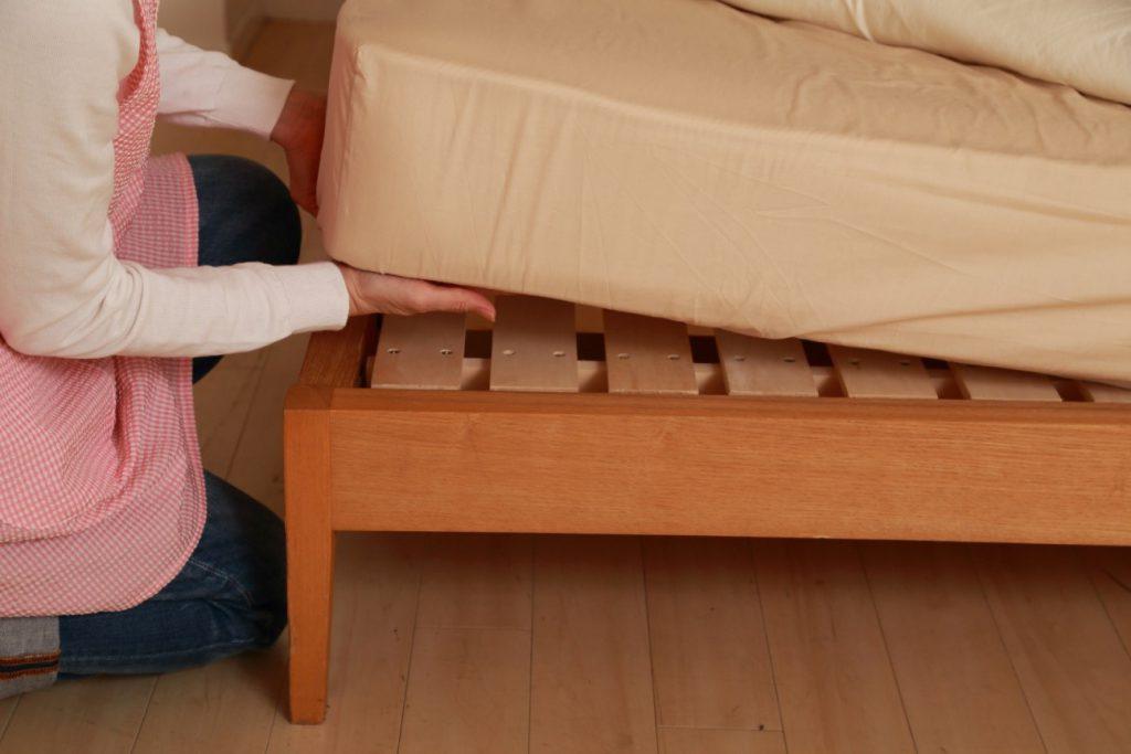 ベッドがカビないための対策と掃除方法