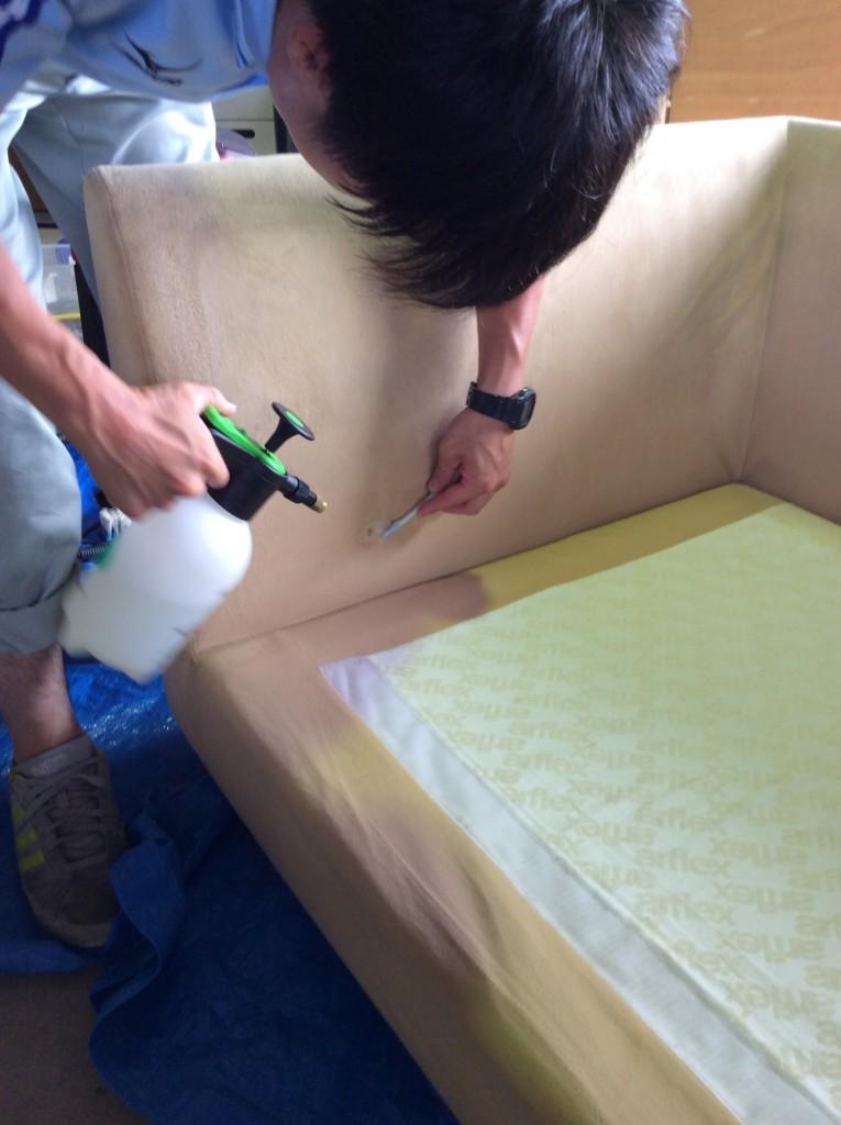 家具のクリーニング2