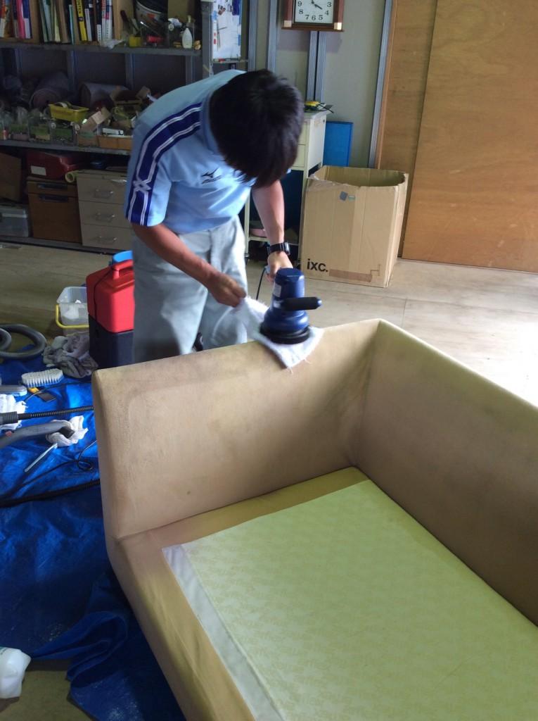 家具のクリーニング3