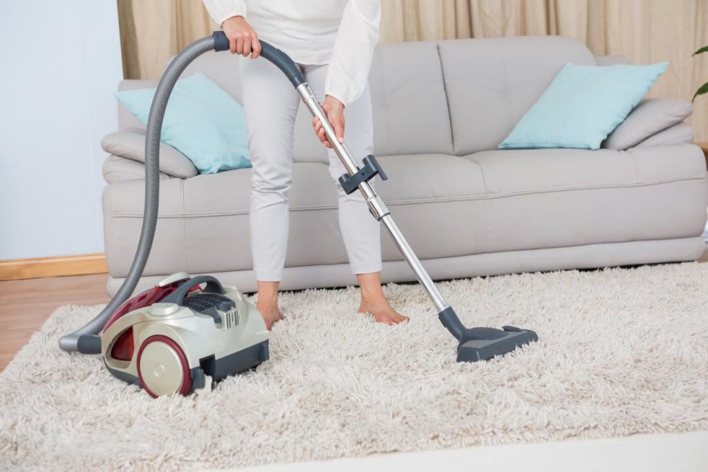毛足の長いラグの掃除方法