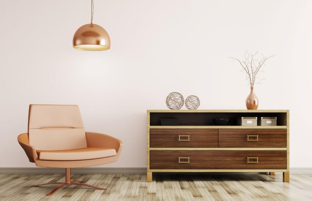 タモ材の家具の色や特徴とは