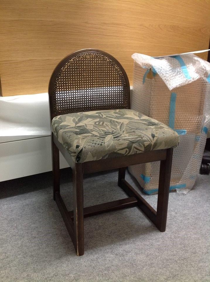 家族の歴史へと変化した、嫁入り道具の椅子