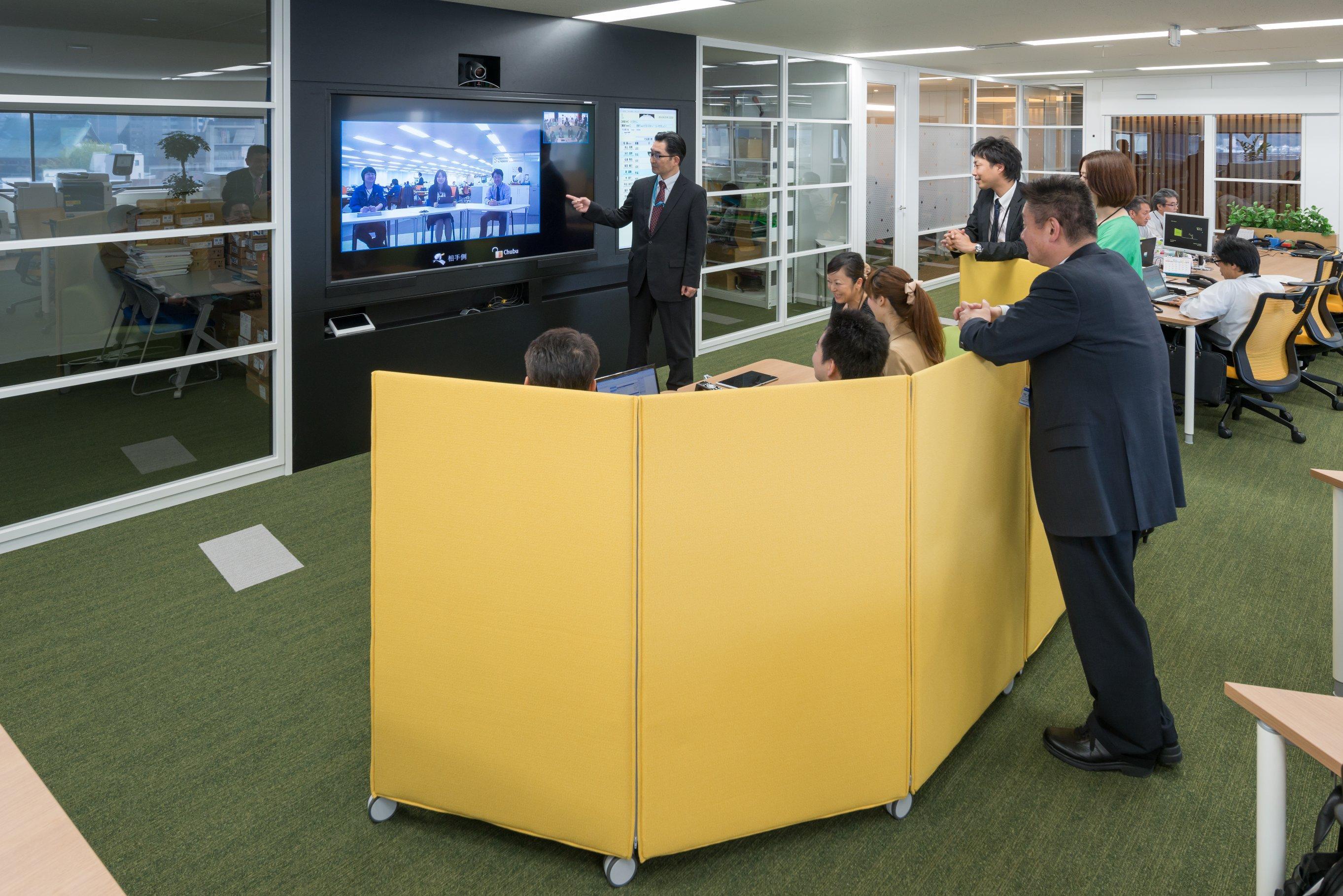 ICTを使ったミーティング