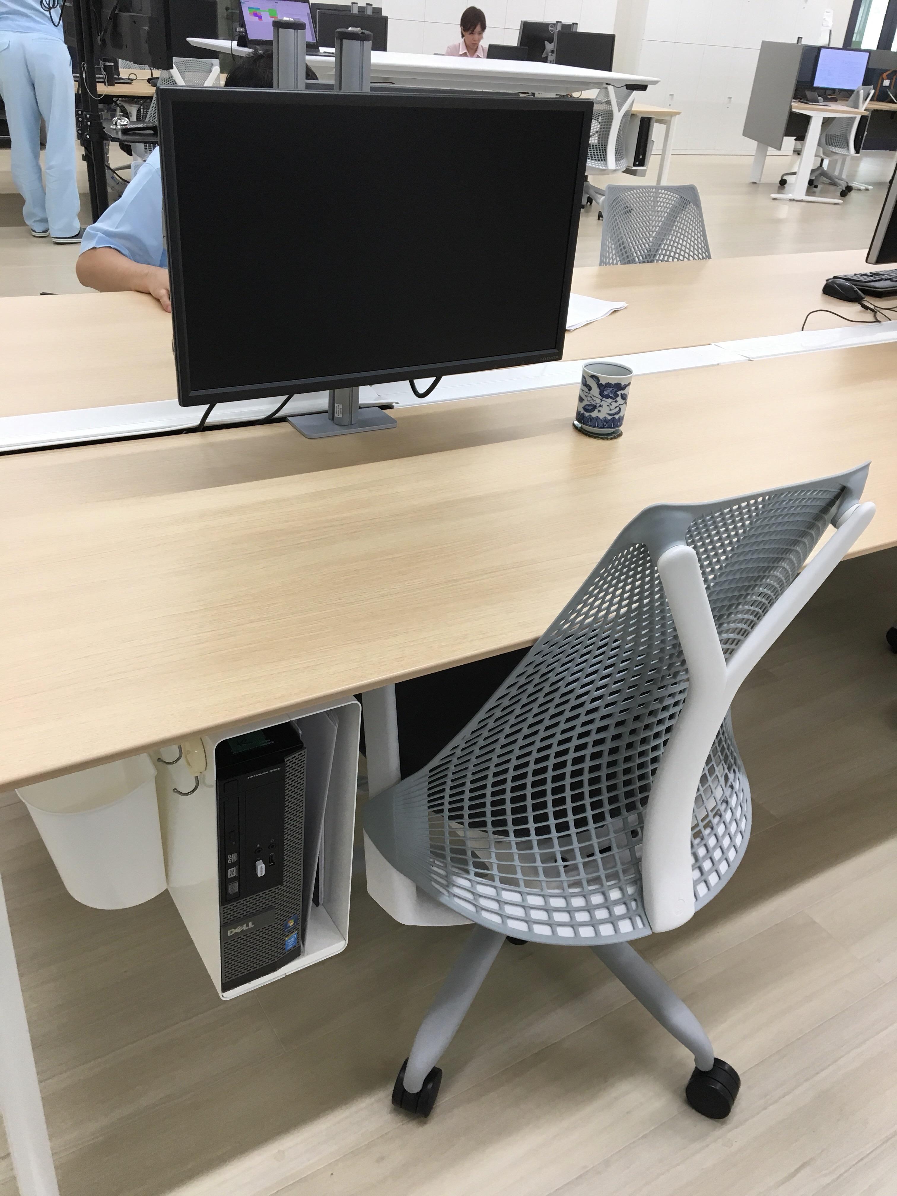 CAD用固定パソコン